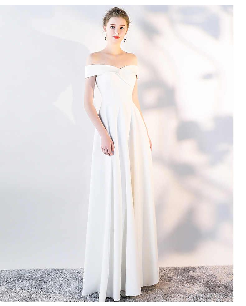 a84b2a4b960 Пикантные летние Slash шеи с плеча Темно-синие белый красный вечерние  платье длиной