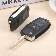 Car Remote Key for 1J0959753AH 434MHz ID48 Uncut Remote Key For Volkswagen Beetle Golf Passat Bora Polo Skoda Fabia Roomster front left central lock actuator 3b1837015aq 3b1837015bc 5j1837015 6qd837015b 3b1837015ar for vw t5 polo skoda fabia roomster