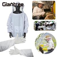 Protective Beekeeping Gloves Safe Beekeeping Suit Bite Protection Unisex Defend Bee Keeping Gloves Safety Clothing