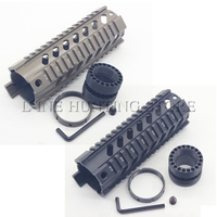 Tactical Gun Accessories Hunting Shooting 7 Free Float Quad Rail Handguard for .223 5.56