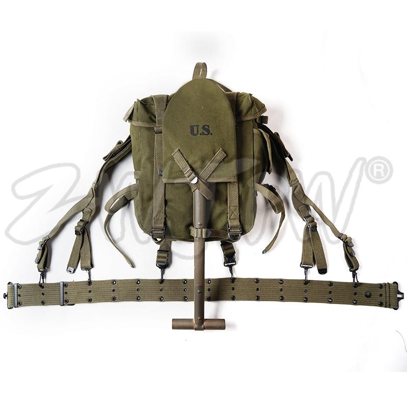 WWII WW2 Korean War Vietnam US SOLDIER M1945 TOP PACK EQUIPMENT COMBINATION