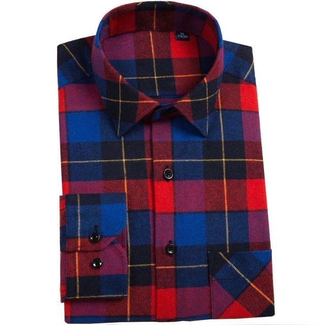 BIANYILONG 2019 Neue Flanell Grün Kariertes Hemd Männer Frauen Casual Slim Fit Social Langarm Streifen Camisas Masculina Plus Größe