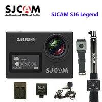 SJCAM SJ6 Легенда 4 К 24FPS дистанционным действий камера 30m Водонепроницаемая Sports DV 2,0 Сенсорный экран Камера на шлем с аксессуарами