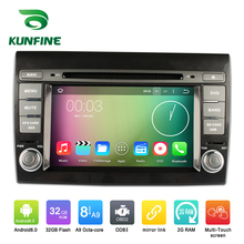 Octa Core 1024*600 Android 6.0 Car DVD GPS Navigation Multimedia Player Car Stereo for Fiat Bravo 2007-2012 Radio 3G Wifi