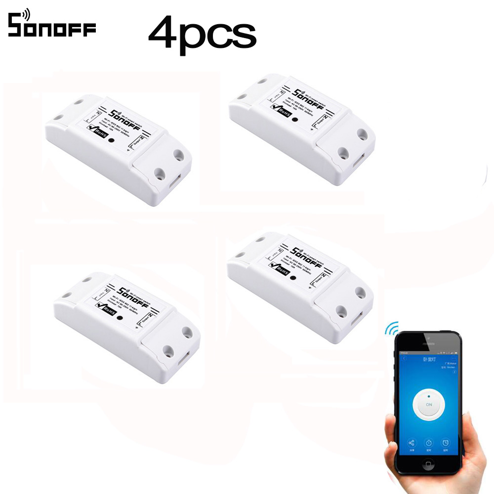 ITEAD Sonoff Basic Wireless Wifi Switch For Smart H