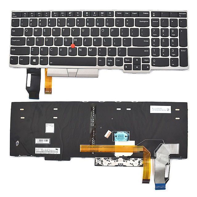 US $43 88 |Backlight Keyboard FOR Lenovo ThinkPad E580 L580 01YP680  SN5372BL-in Keyboards from Computer & Office on Aliexpress com | Alibaba  Group
