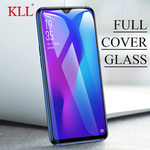 KLL 9H Full Cover Tempered Glass for OPPO R17 R15 High Quality Screen Protector Film A5 A3 A1 F7 HD Protective