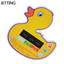 Baby Take Shower Thermometer Bath Monitor Tester Toys Cartoon LCD Water Temperature Meter(China)