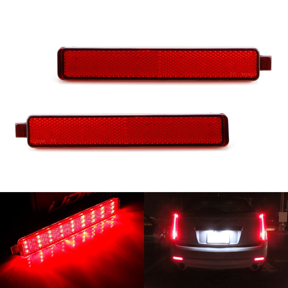 2PCs X Rear Bumper light for Buick Enclave Cadillac CTS CTS V for Chevrolet Trailblazer for GMC Acadia for Pontiac Torren