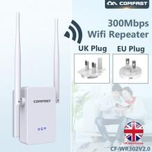 Comfast WR302V2 300 Мбит/с беспроводной Wifi ретранслятор 2,4G Wifi удлинитель беспроводной маршрутизатор Wifi усилитель сигнала Wifi усилитель EU/UK Разъем