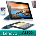"Buiness Ультратонких Смарт-Чехол для Lenovo A3500 Stand Leather Case для Lenovo A7-50 A3500 7 ""Tablet PC case + защитные пленки"