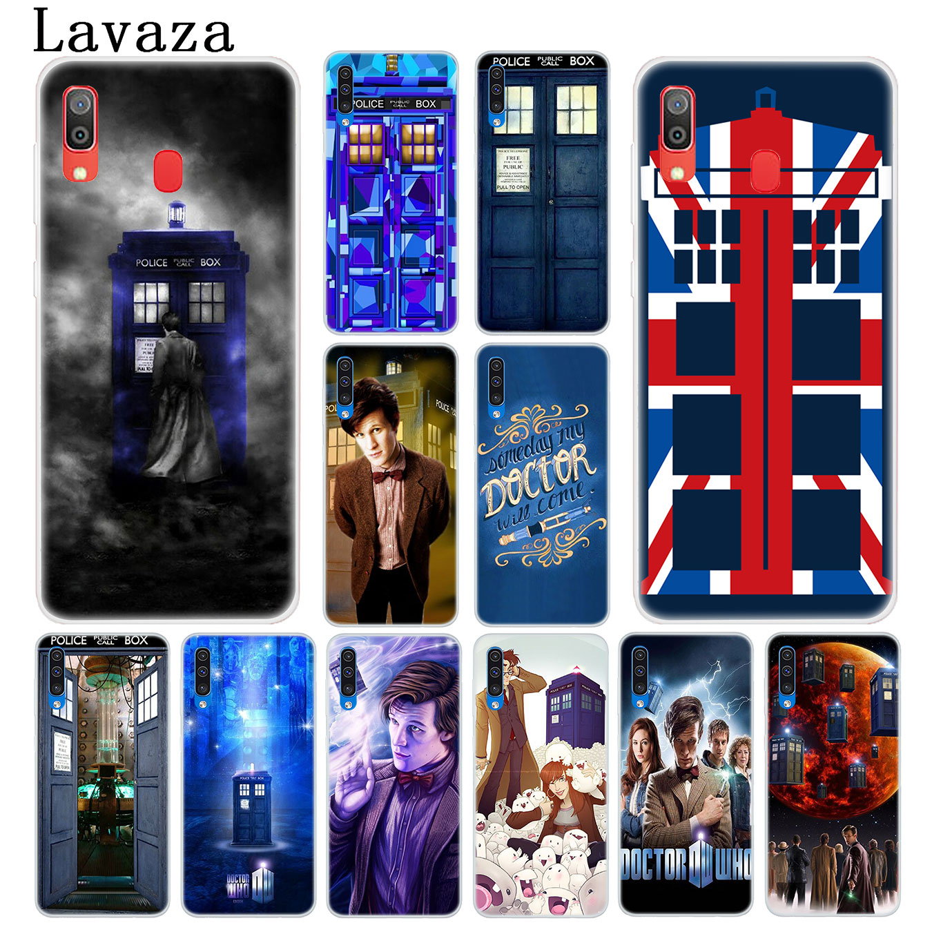 Half-wrapped Case Phone Bags & Cases Lavaza Tardis Box Doctor Who Hard Transparent Phone Case For Samsung Galaxy M30 M20 M10 A10 A30 A40 A50 A70 Cover Factories And Mines