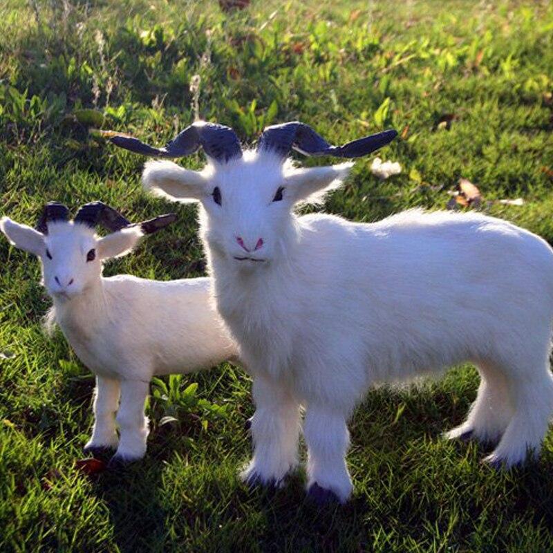 Small Goat Toys Simulation Goat Baby Sleeping Doll Plush Stuffed Dolls Kids Toy