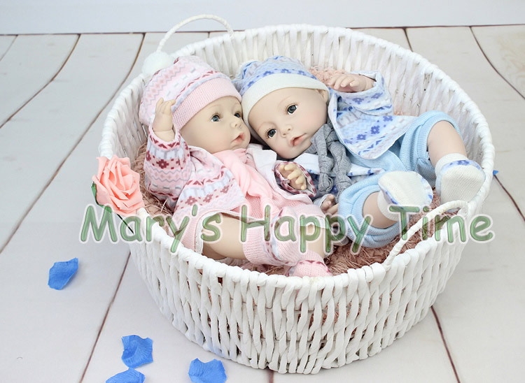 40cm all Silicone reborn baby dolls high-end handmade mini baby reborn doll lovers play in hourse brinquedos toy can be in water tang dynasty shangguan wan er 12jointed doll 31cm high end handmade chinese costume dolls limited collection bjd 1 6 moveable