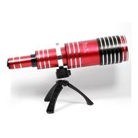 Universal Aluminum Super 80X Optical Zoom Telescope Telephoto Lens Lenses for Huawei Ascend P10 P10 Plus P8 P9 Lite Mate S 9 8 7