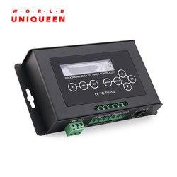 Controlador LED programable en tiempo 322-6A, DC12-36V controlador temporizador LED de 4 canales 24A, tormenta integrada, iluminación, Amanecer, puesta de sol speci