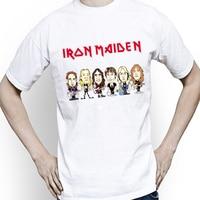 Top Quality Tshirt Men Fashion Iron Maiden T Shirt Brand Clothing Anime Hip Hop Letters Men