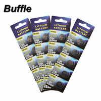 20 pcs/4 pack Buffle Novo Botão Celular Coin Baterias 3 V Bateria de Relógio De Lítio CR1632 ECR1632 BR1632 DL1632 KCR1632 LM1632 Atacado
