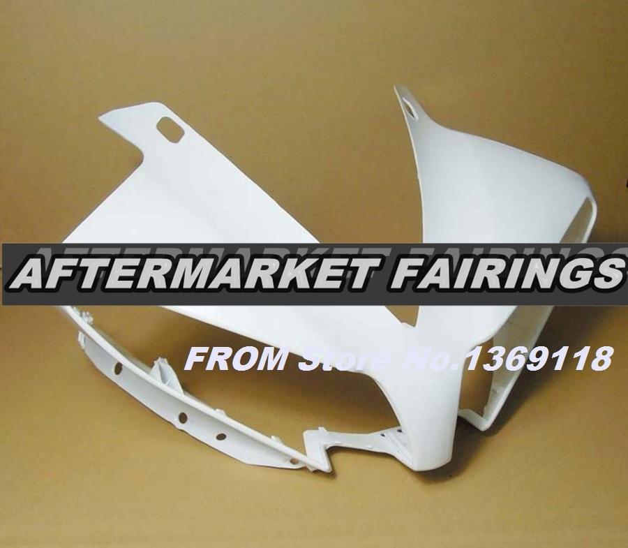 100% Virgin ABS Plastic Front Fairing Head For Yamaha YZF R1 2012 2013 2014 Upper Fairing Nose Cowling NEW 100% virgin abs plastic front fairing head for yamaha yzf r6 2008 2009 2010 2011 2012 2013 2014 upper fairing nose cowling new
