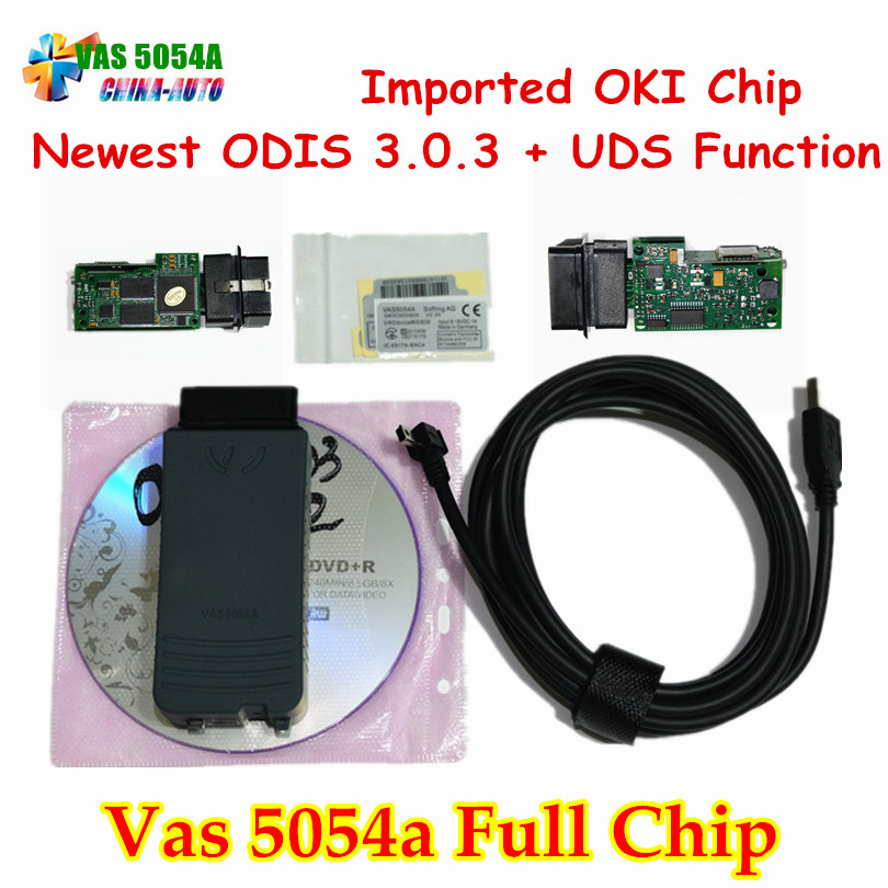 Цена за Новый ODIS V3.0.3 OKI Чип VAS 5054A VAS5054A Bluetooth Поддержка UDS VAS 5054 Полный Чип VAS5054 Диагностический Инструмент