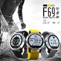 Pulsómetro bluetooth smartwatch f69 deporte natación impermeable reloj pulsómetro relojes inteligentes para apple iphone android