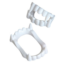 1pcs New Toy Vampire Teeth Werewolf Zombie Fangs For Halloween Party Prop Masquerade Cosplay Makeup Funny Dentures  #281229