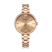 2019 Hot Fashion Top Brand Luxury Lady Business Minimalism Waterproof Stainless Steel Quartz Women Watch Girl Clock montre femme