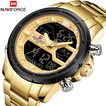 NAVIFORCE Men's Waterproof Top Brand Luxury Casual Quartz Watches