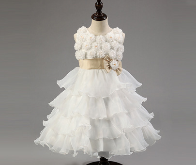 2017 Princess Flower Girl Dresses For Wedding Patry Brand  Lace Tutus Little Baby Girls Pageant Dress Kids Evening Gown цены онлайн