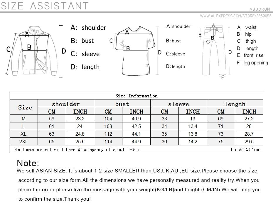 ABOORUN Men's Hip Hop T-shirt Rule Ribbons Decoration Printed Tees High Street Original Loose Short Sleeve Shirts for Male R149 31