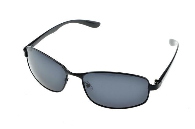 Escudo clásico gris lentes de Luz Polarizada gafas de sol UV400 polaroid gafas de sol polarizadas diseñador de conducción deportiva Al Aire Libre