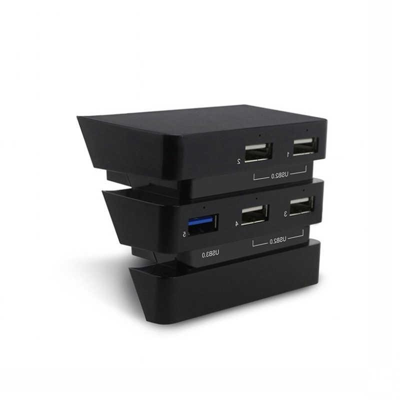 PS4 ためのプロアクセサリーステーション 4 プロホスト USB ハブ 3.0 & 2.0 USB ポートゲームコンソール拡張 USB アダプタ