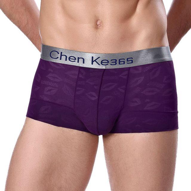 Uskincare 3 peças \ muito calcinhas dos homens dos pugilistas dos homens boxers shorts de underwear modal respirável cinto largo homens sólidos cuecas macios th01