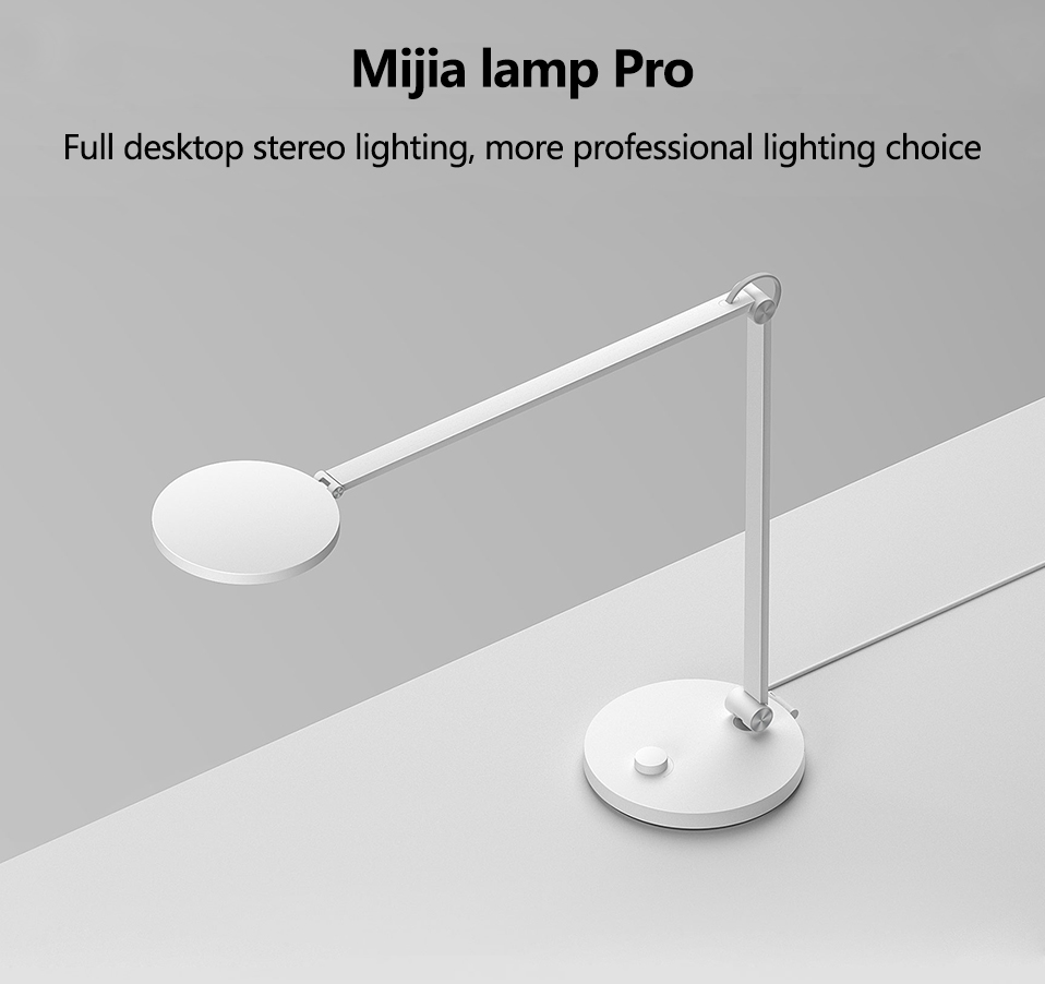 Xiaomi Mijia LED Desk Lamp Pro Smart Eye Protection Table Lamps Dimming Reading Light Work with Apple HomeKit Reading Light (3)