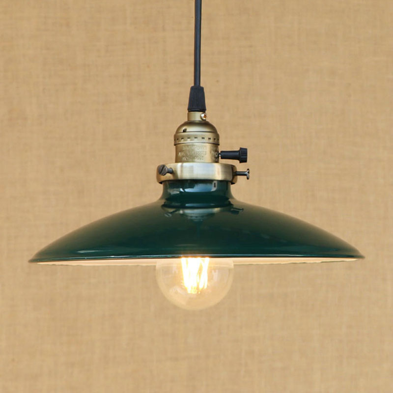 Vintage Pendant Lights Industrial Loft American Retro Lamps Creative Restaurant Dining Room Lamp Bar Counter Incandescent bulb