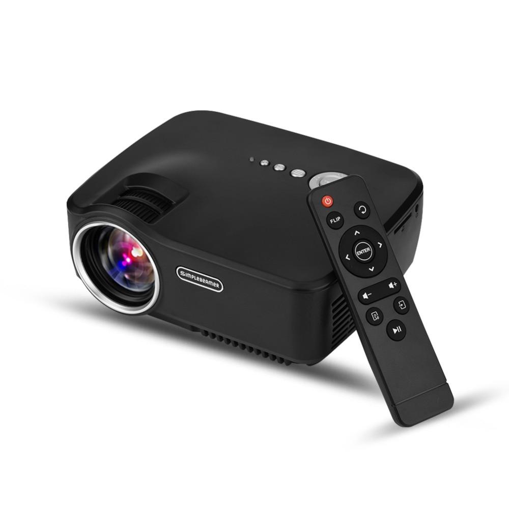 Mini <font><b>LED</b></font> Protable <font><b>Projector</b></font> <font><b>Full</b></font> <font><b>HD</b></font> 1080P Simple Beamer HDMI Active 3D Video <font><b>LED</b></font> Home Theater Micro <font><b>Projector</b></font> 1200 Lumens UK