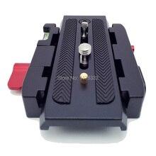 Алюминиевый сплав быстрого крепления P200 + быстрый-релиз зажим адаптер совместим для Manfrotto 577 501 500AH 701HDV 503HDV Q5