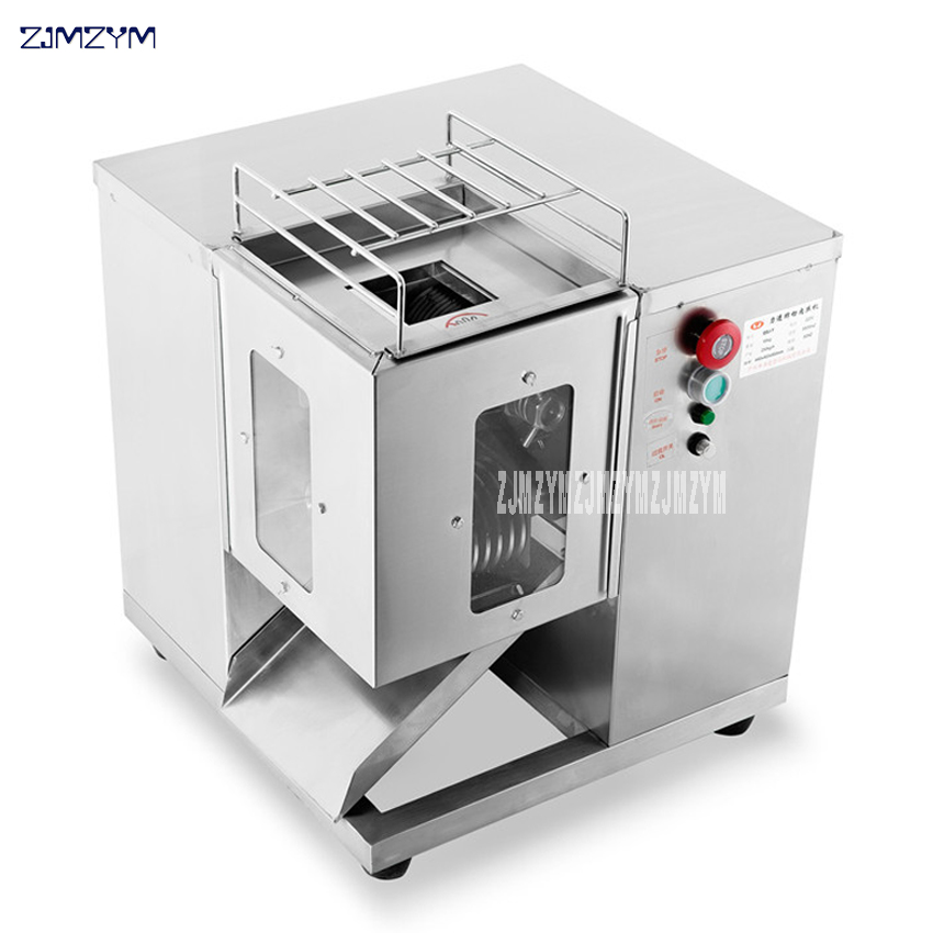 110V/220V hot selling high quality QSJ-T commercial use new design cutting meat machine Standard and stainless steel meat cutter110V/220V hot selling high quality QSJ-T commercial use new design cutting meat machine Standard and stainless steel meat cutter