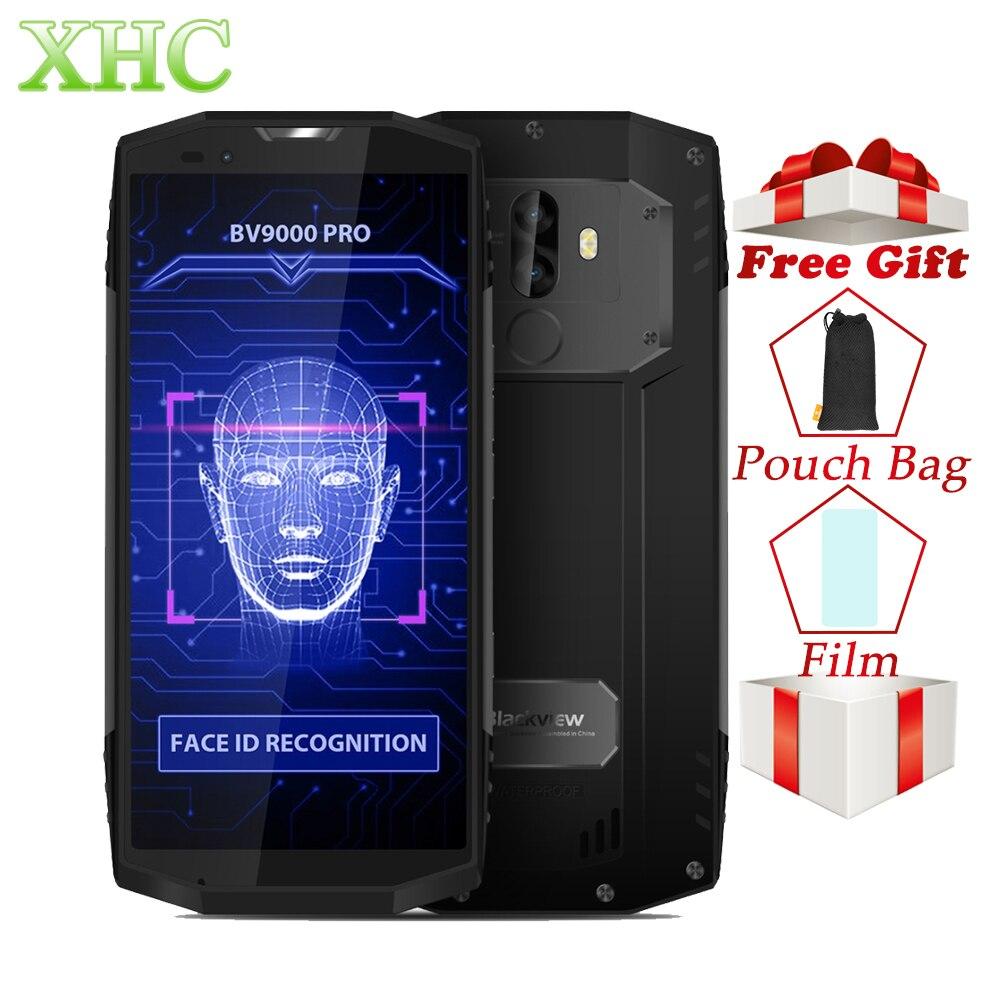 Blackview BV9000 Pro 4g Smartphones 6 gb + 128 gb 5.7 18:9 HD Plein Écran Octa Core IP68 étanche 8MP + 13MP Double SIM Mobile Téléphones