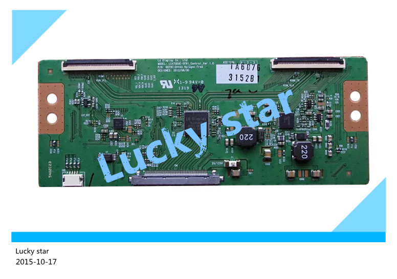 100% tested good working High-quality for 6870C-0444A board LC470DUE-SFR1 logic board 98% new 2pcs/lot industrial board rocky 518hv v4 1 well tested working