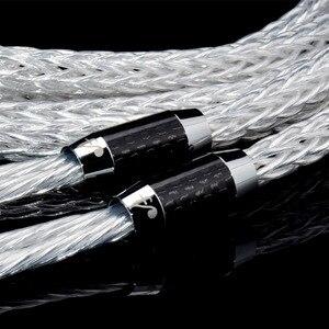 Image 5 - ATAUDIO 8ag Reinem Silber überzogene OCC Hifi Lautsprecher Kabel Hallo end Lautsprecher Draht für Verstärker und CD