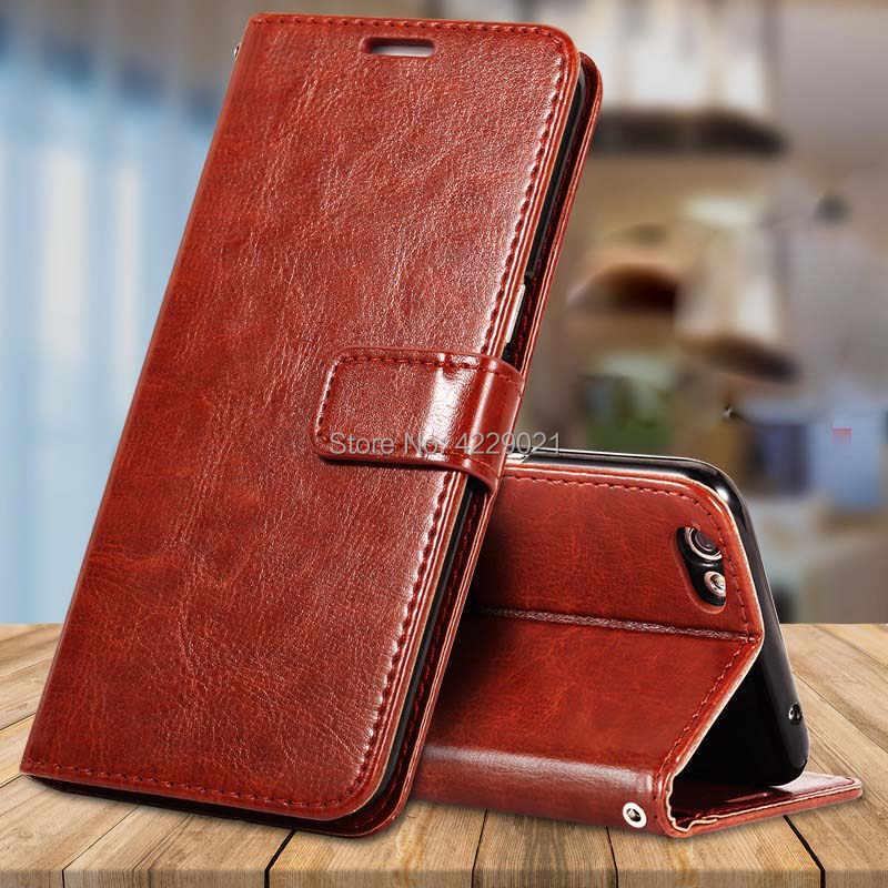 Роскошный кожаный чехол с откидной крышкой крышка для Vivo Y81 чехол Чехол-книжка для задней панели телефона чехол для Vivo Y81 Y 81 VivoY81 6,22 дюймовая крышка телефона