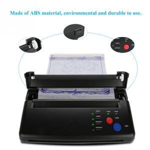 Image 3 - מצית קעקוע העברת מכונת מדפסת ציור תרמית סטנסיל מעתיק יצרנית עבור קעקוע העברת נייר אספקת permanet איפור