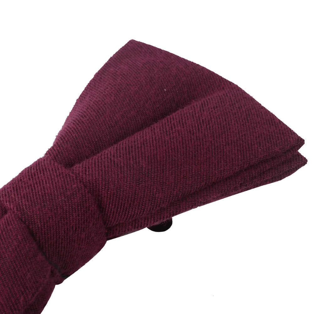 Corbata de lazo de los hombres de color sólido pajarita para los hombres las mujeres boda Bowknot adulto sólido corbatas de moño mariposa azul trajes pajaritas