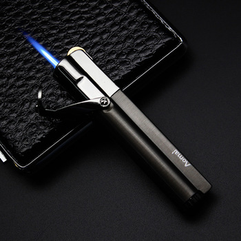 2019New type 1300C Torch Turbo Lighter  Blue Flame Electronic gas Butane Mini Cigar Cigarettes Lighters Gift