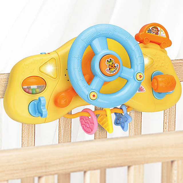 תינוק הגה מוסיקלי פעמון יד פיתוח חינוכי כלי נגינה צעצועים לילדים מתנה תינוק צעצועי 0 12 חודשים