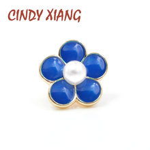 CINDY XIANG 6 Style for Choose Small Enamel Pin Brooch Fashion Cute Monkey Watermelon Flower Fruit Backpack Badges High Quality(China)