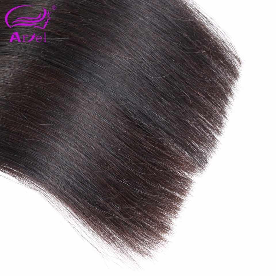 Волосы Ариэль пучки прямые волосы для наращивания малазийские волосы плетение 30 28 дюймов пучки не Реми натуральный цвет человеческие волосы для наращивания