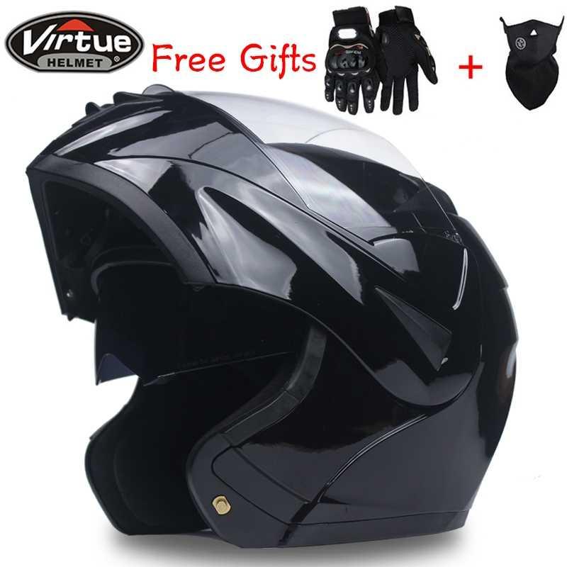 951dbf9b ... DOT Flip Up Motorcycle helmet Tourbike helmet Modular helmet dual visor  system full face helmet ...