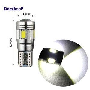 Image 3 - Deechooll 2 個 W5W LED 電球車アルファロメオ用の 159 、 canbus T10 6/27SMD クリアランスライトロミオ 159 2007 + インテリアランプ